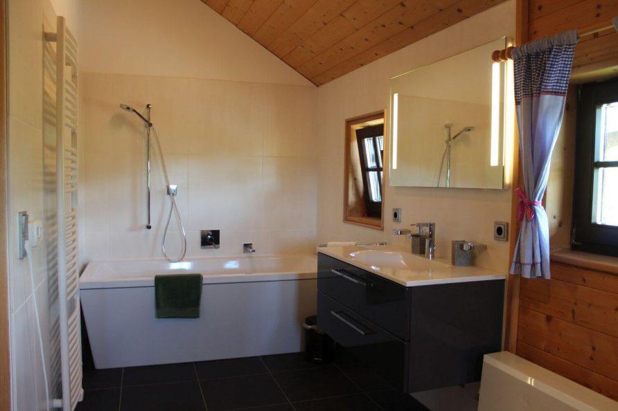 Badezimmer Blockhaus