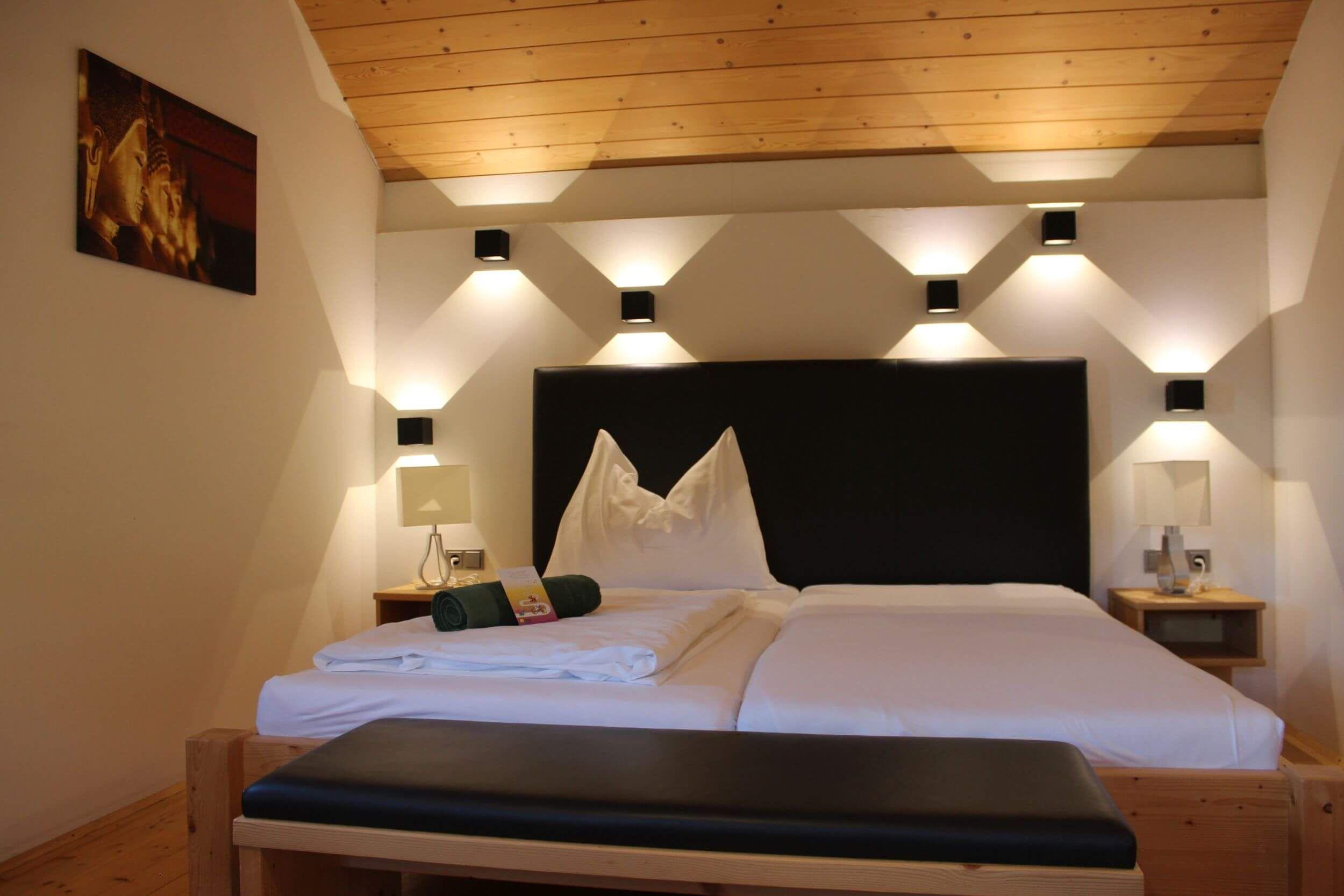 Schlafzimmer Blockhaus Kleebauer Hof