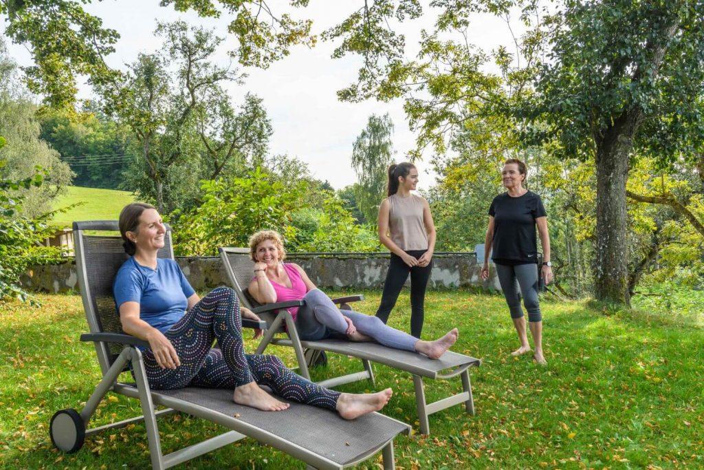 Entspannen am Kleebauer Hof