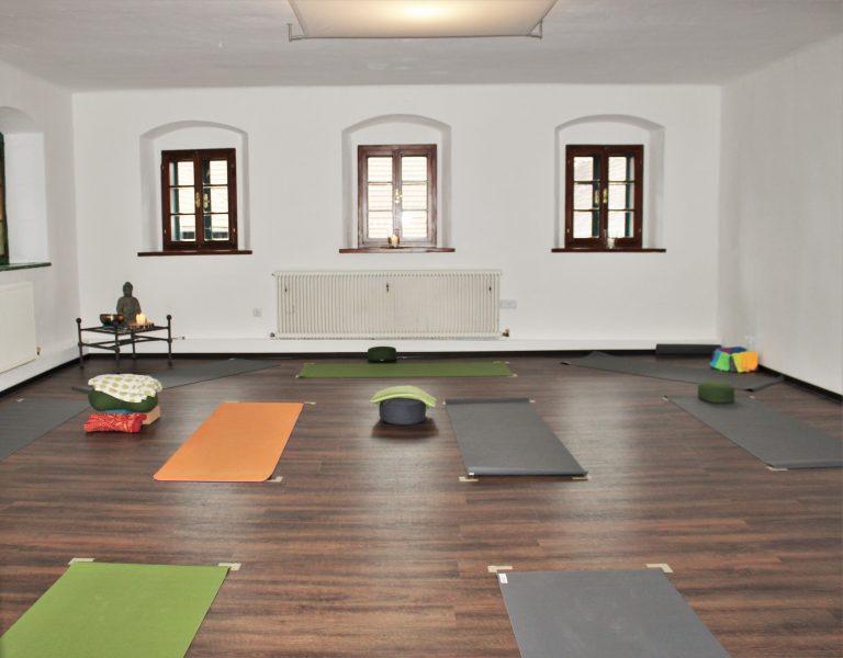 Kleiner Yogaraum