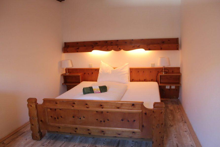 Doppelzimmer ohne Bad Kleebauer Hof