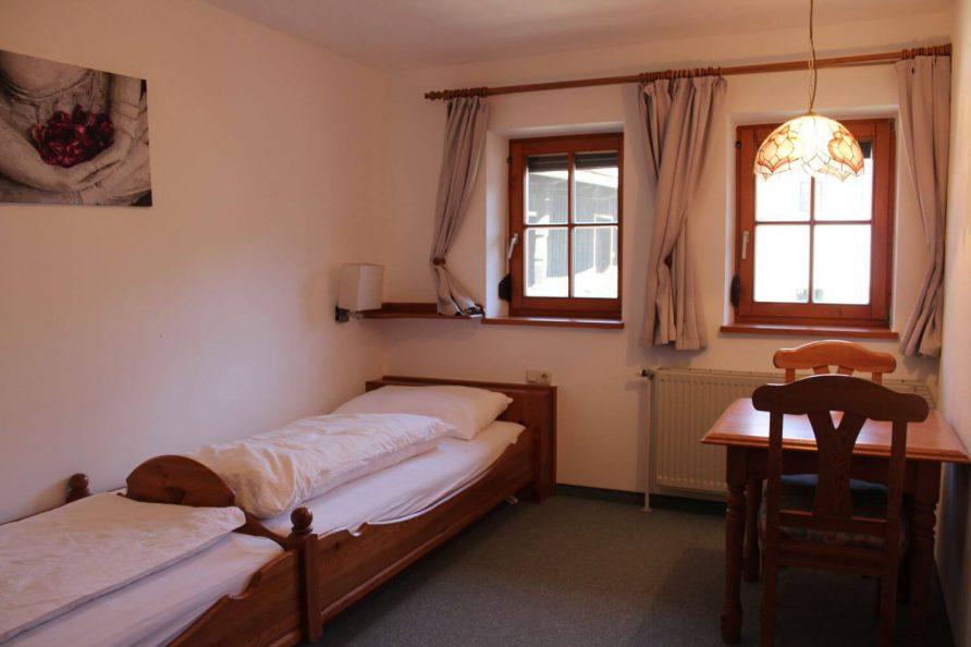 Zimmer mit getrennten Betten Kleebauer Hof