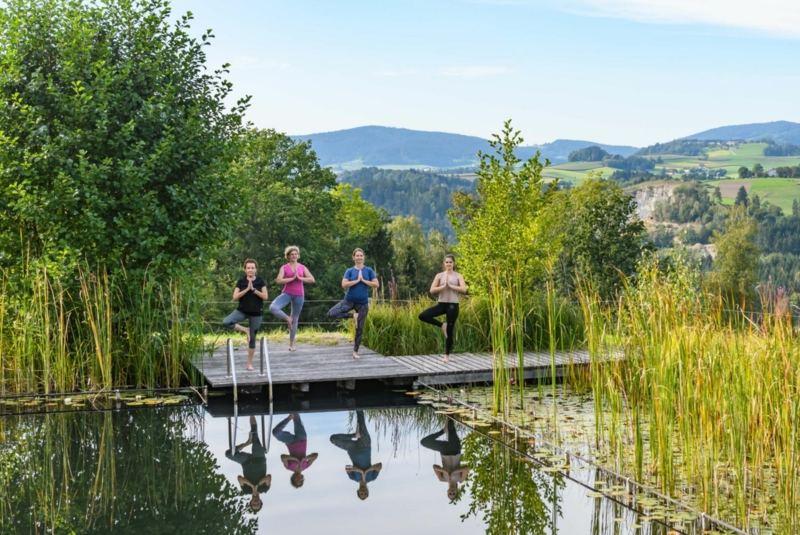 yoga für mehr leichtigkeit